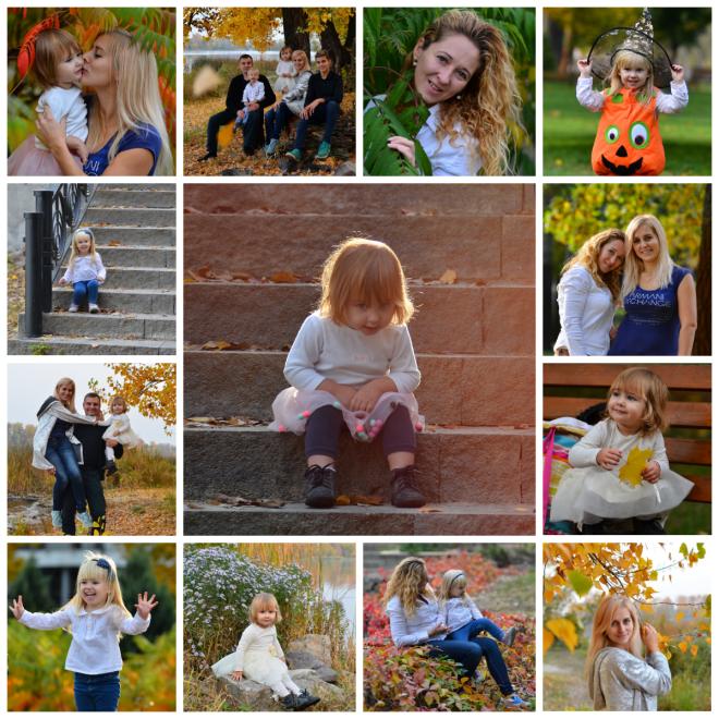 Дитяча та сімейна осіння фотосесія у парку Наталка, Київ